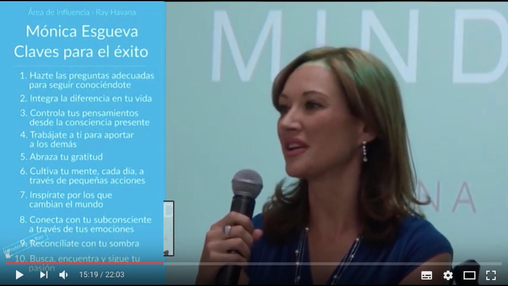 «Mindfulness: base de la paciencia, serenidad y equilibrio», video por Ray Havana