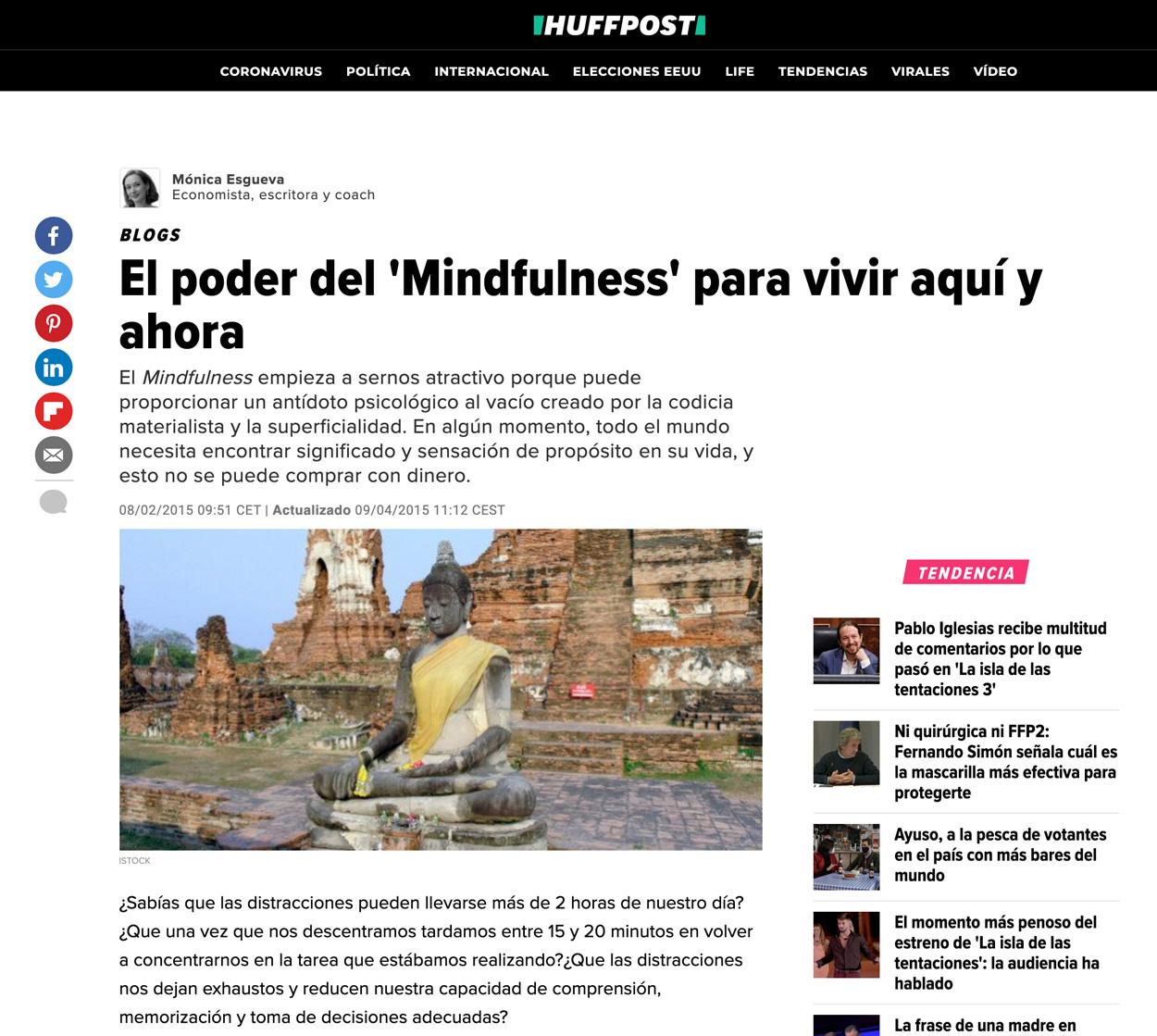 Mónica Esgueva en Huffington Post